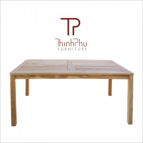 acacia wood basic table
