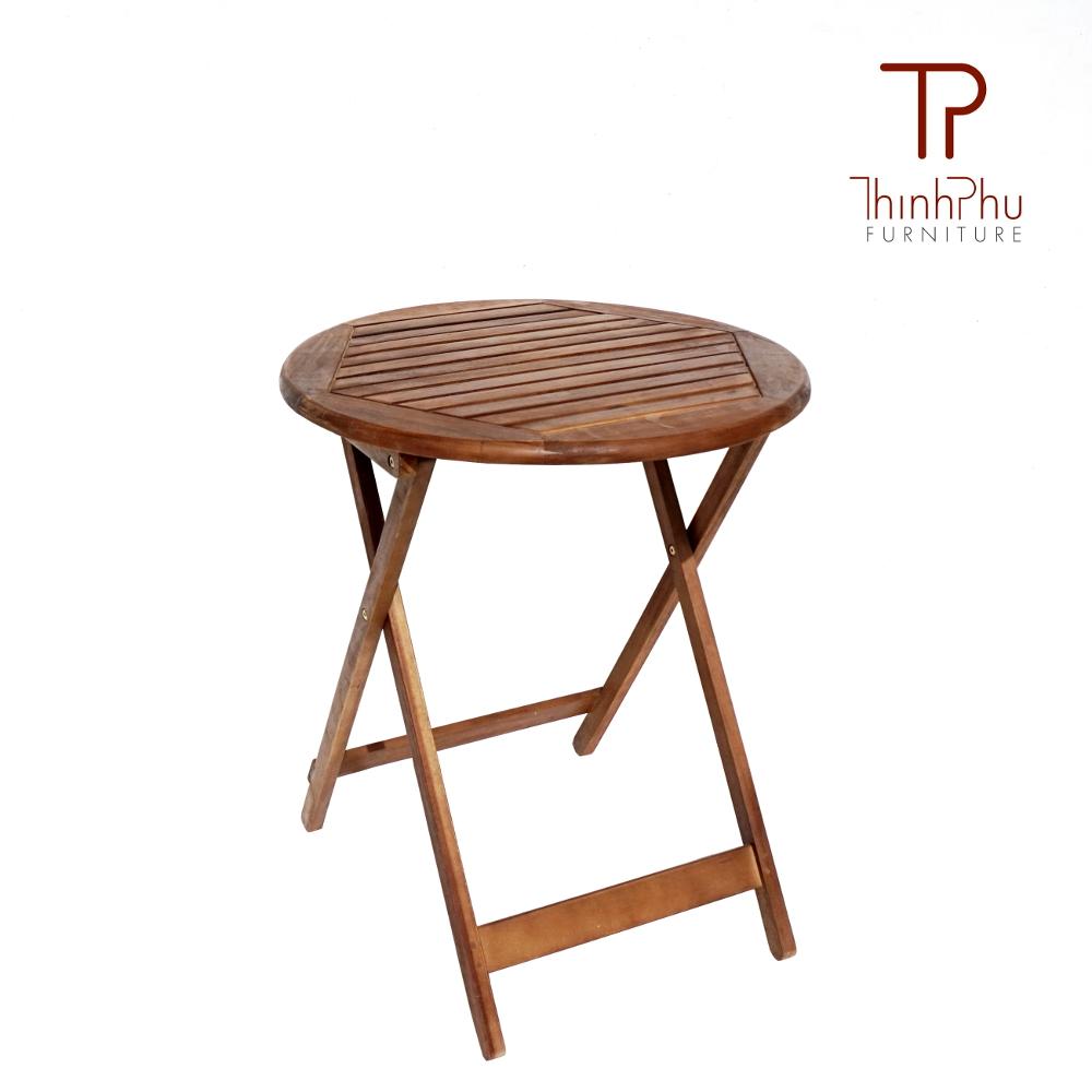 Bistro Set Robinson Vetnam Wood Garden Table