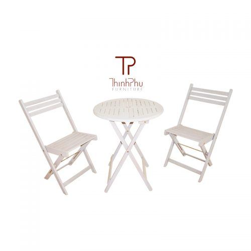 bistro set with round table MARITA