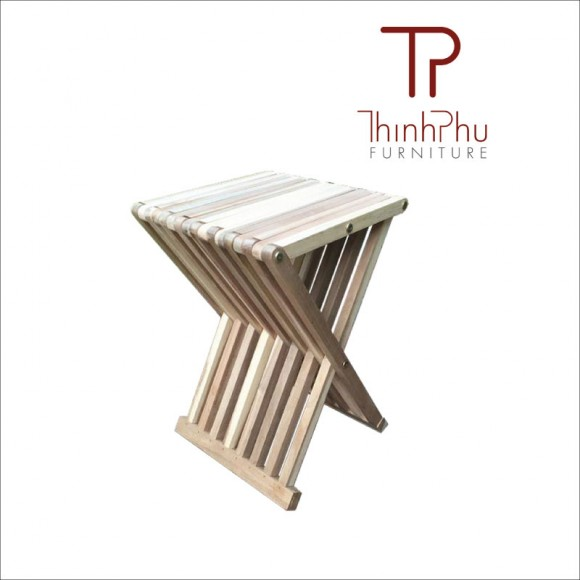 Wood stool japaso thinh phu furniture for Outdoor furniture vietnam