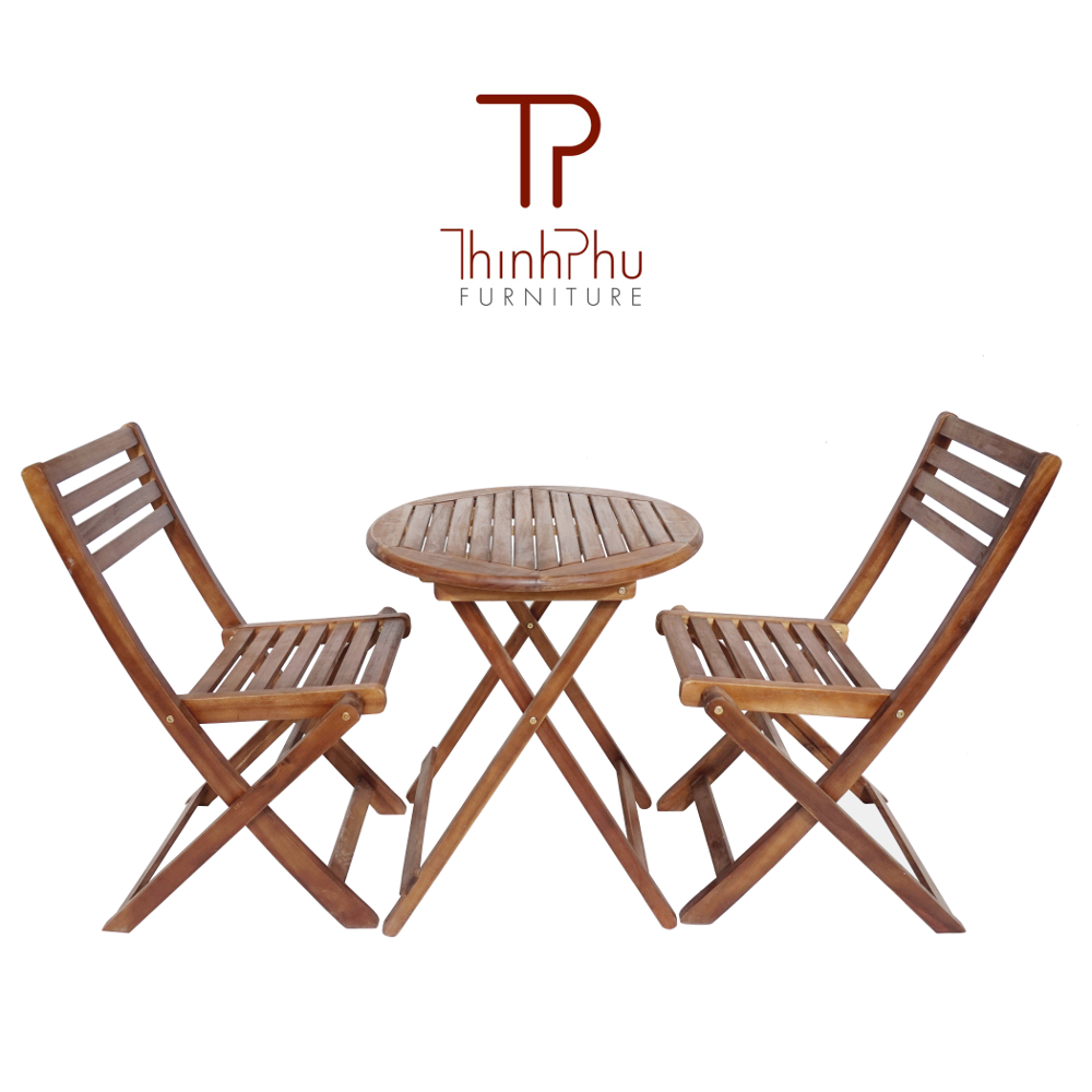 Wood Furniture For Outdoor Garden Bistro Set Robinson