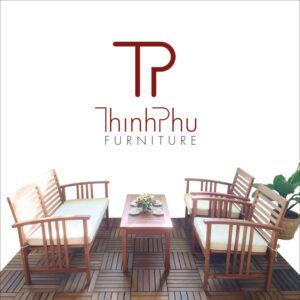 wooden outdoor sofa set SOPHIA