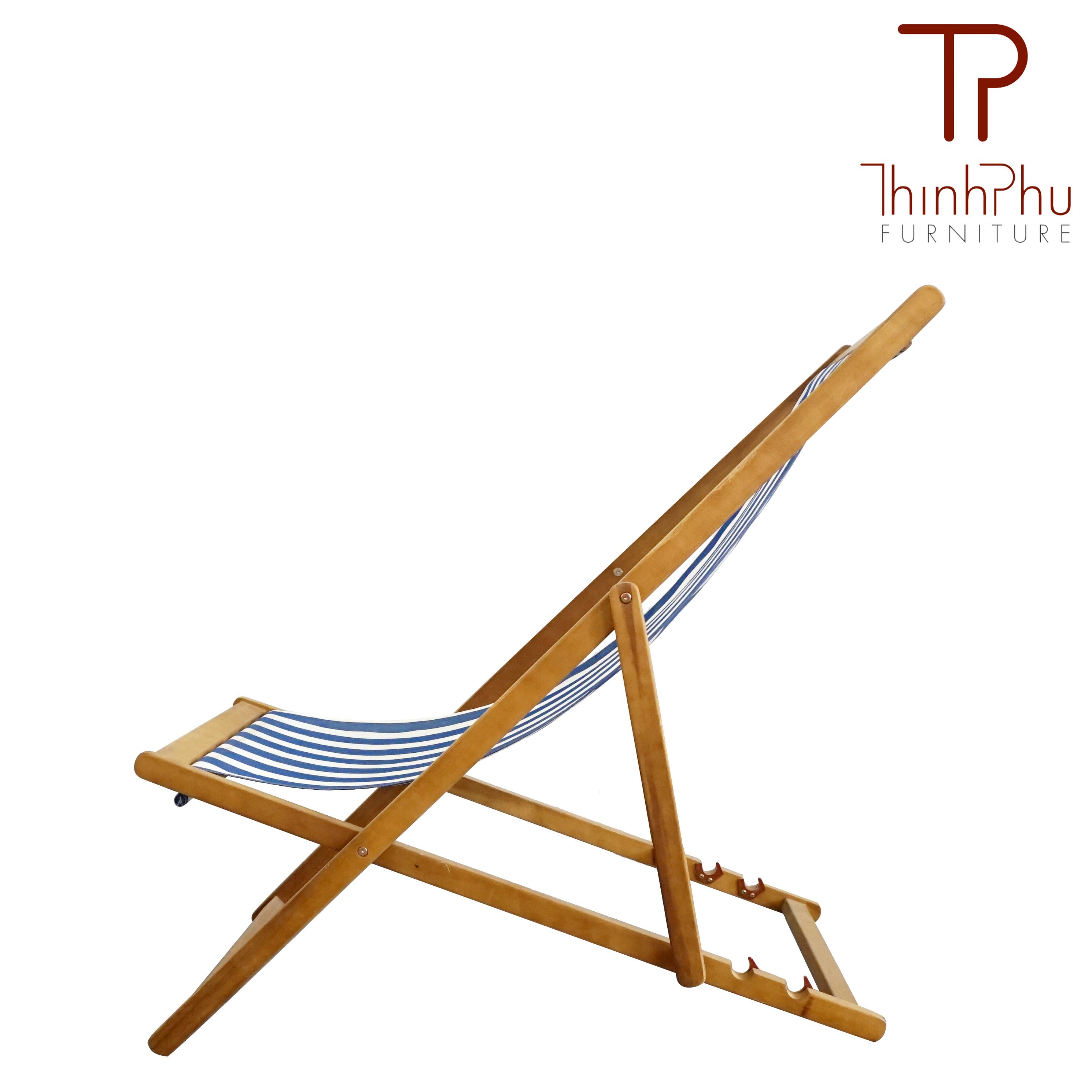 Textile Beach Chair Cocobeach Thinh Phu Furniture