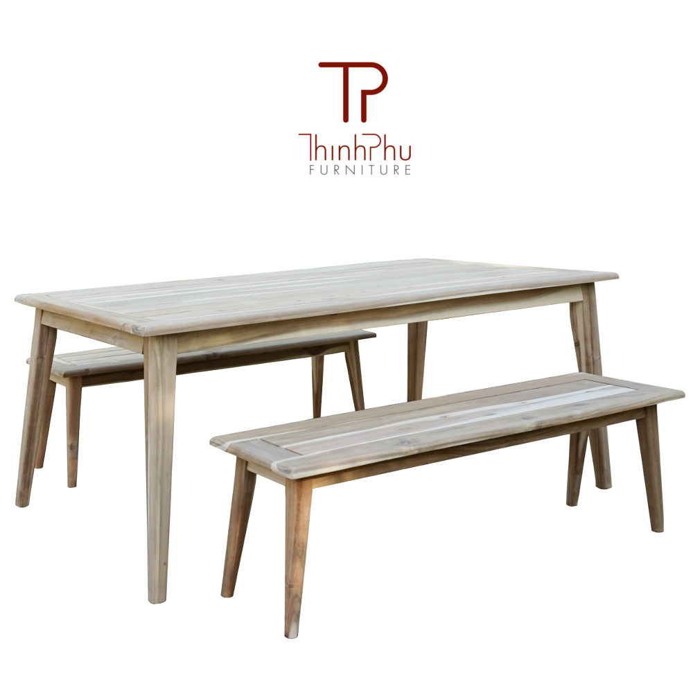 dining set acacia wood outdoor furniture