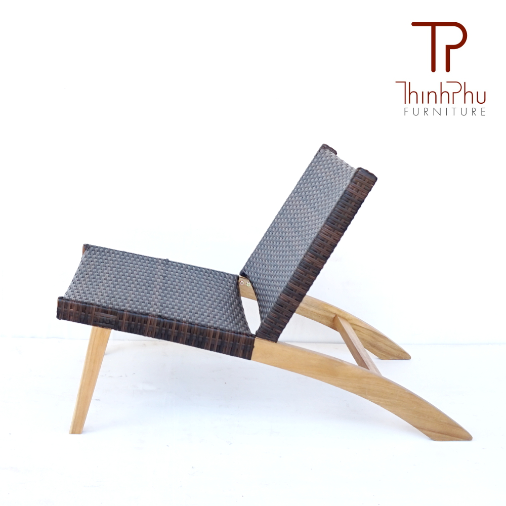 relax chair wood wicker simba thinh phu furniture. Black Bedroom Furniture Sets. Home Design Ideas