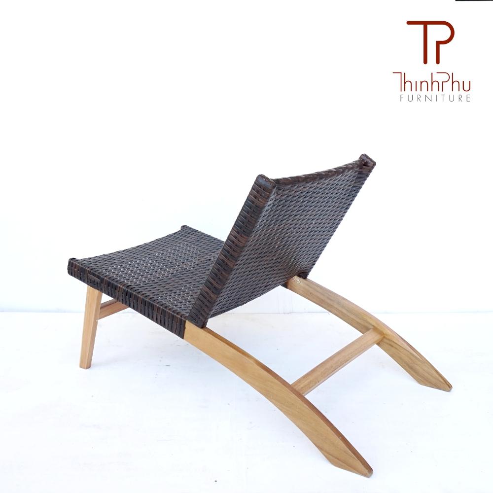 Relax chair wood wicker simba thinh phu furniture