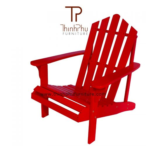 red-color-adirondack-chair