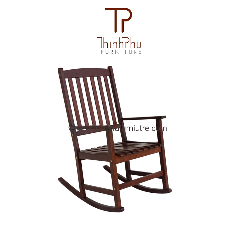 Rocking chair rockie brown thinh phu furniture for Outdoor furniture vietnam