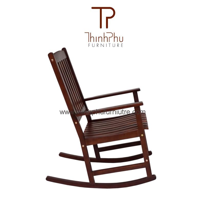 Rocking chair rockie brown thinh phu furniture for Vietnam furniture