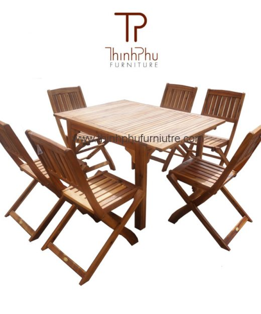 dining set RUSTIC