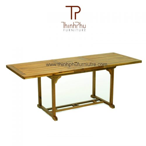 retangular extension table