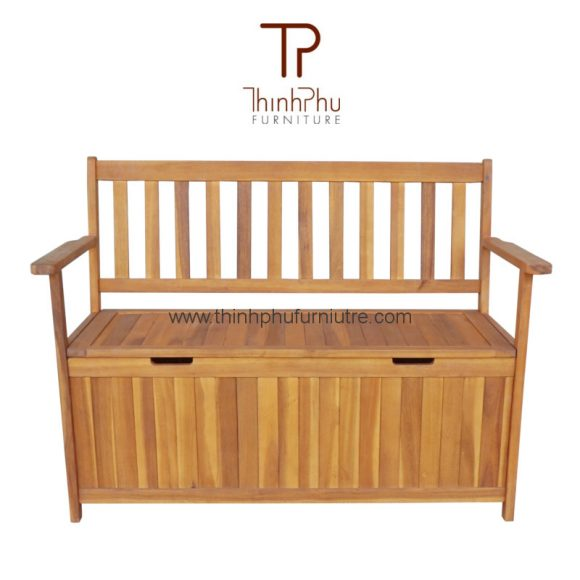 wood-storage-bench